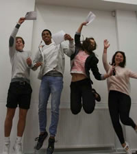 gcse results photo200